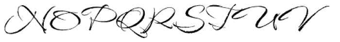 Babylonica ROB Font UPPERCASE