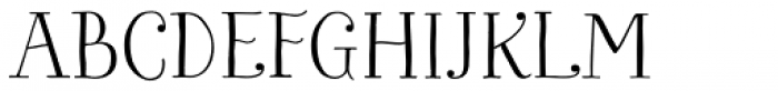 Bach Regular Font UPPERCASE