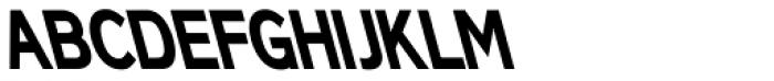 Back And Forth BACK Font UPPERCASE