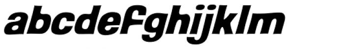 Back Beat Italic Font LOWERCASE