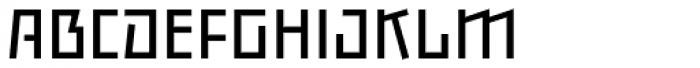 Backstein Alternates Book Font UPPERCASE