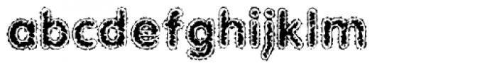 Bad Comp AOE Font LOWERCASE