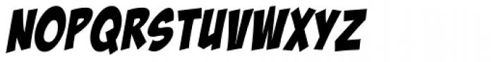 Bada Boom Pro BB Italic Font LOWERCASE