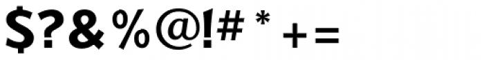 Badger Bold Font OTHER CHARS