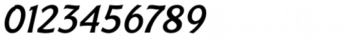 Badger Medium Italic Font OTHER CHARS