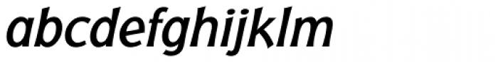 Badger Medium Italic Font LOWERCASE