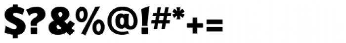 Badger Pro ExtraBold Font OTHER CHARS