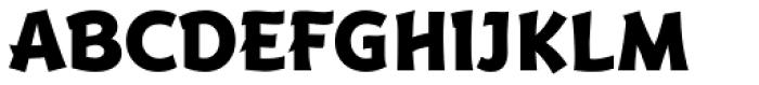 Badger Pro ExtraBold Font UPPERCASE