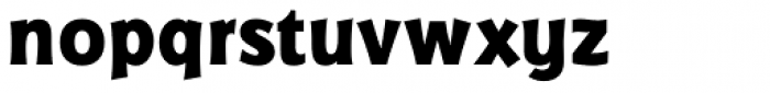 Badger Pro ExtraBold Font LOWERCASE