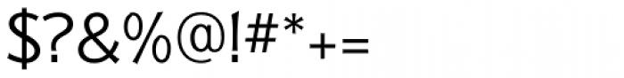 Badger Pro Light Font OTHER CHARS
