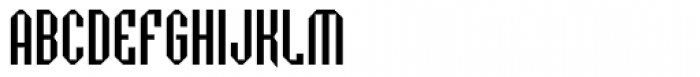 Badloc ICG Bevel Font UPPERCASE