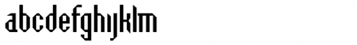 Badloc ICG Bevel Font LOWERCASE