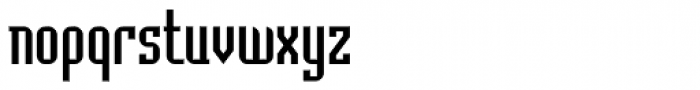 Badloc ICG Font LOWERCASE