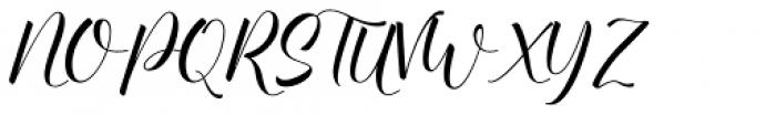 Baelish Script Font UPPERCASE