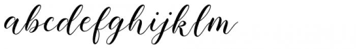 Baelish Script Font LOWERCASE