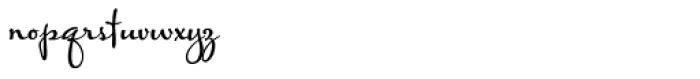 Baghadeer Bold Font LOWERCASE