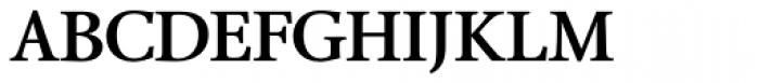 Bague Text DemiBold Font UPPERCASE