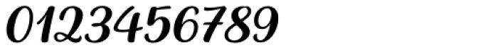 Baguet Script Regular italic Font OTHER CHARS