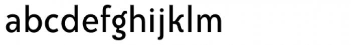 Bailey Sans Book Font LOWERCASE