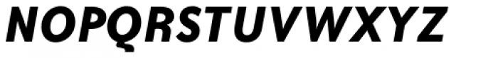 Bailey Sans Std Bold Italic Font UPPERCASE