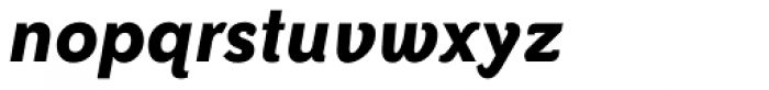 Bailey Sans Std Bold Italic Font LOWERCASE