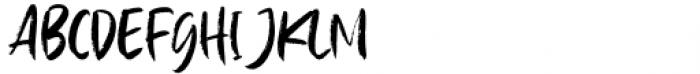 Baille Simpson Regular Font UPPERCASE