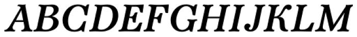 Bajka Bold Italic Font UPPERCASE
