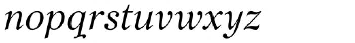Bajka Italic Font LOWERCASE