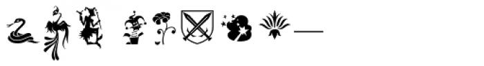Bajka Symbols and Ornaments Font OTHER CHARS