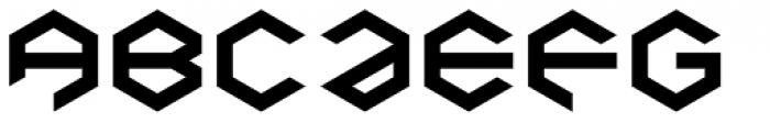 Baker Half Bare Bold Font UPPERCASE