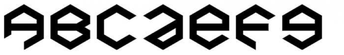 Baker Half Bare Bold Font LOWERCASE