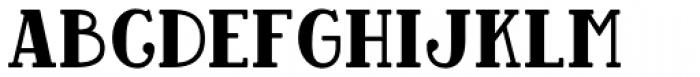 Baker Street Black Font UPPERCASE