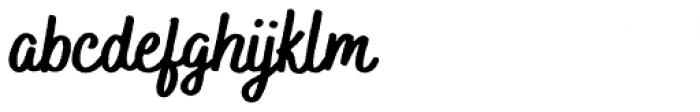 Bakerie Rough Black Font LOWERCASE