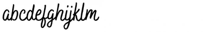 Bakerie Rough Condensed Medium Font LOWERCASE