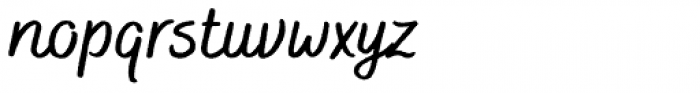 Bakerie Rough Wide Medium Font LOWERCASE