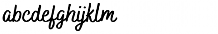 Bakerie Smooth Bold Font LOWERCASE