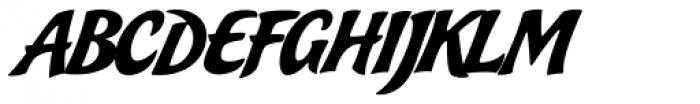 Bakery Script Font UPPERCASE