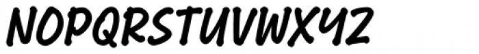 Bakeshop Bold Non-connect Font UPPERCASE