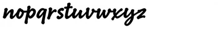 Bakeshop Bold Font LOWERCASE