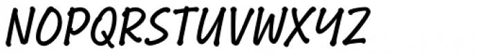 Bakeshop Regular Non-connect Font UPPERCASE