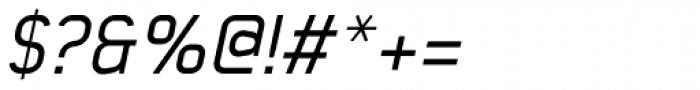 Baksheesh Italic Font OTHER CHARS