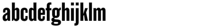 Balboa Condensed Font LOWERCASE