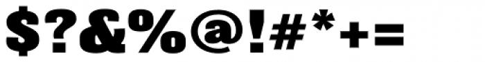 Balboa ExtraBlack Font OTHER CHARS