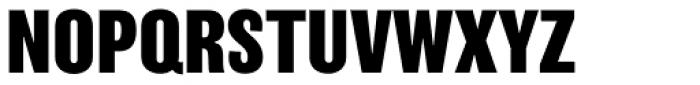Balboa ExtraBold Font UPPERCASE