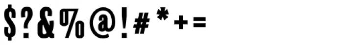 Balboa Plus Fill Font OTHER CHARS