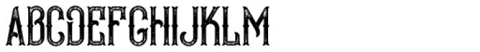 Bald Eagle Font UPPERCASE