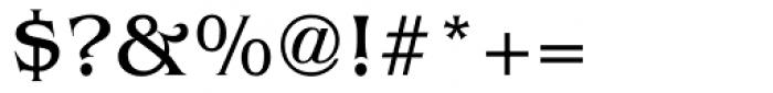 Baldessare Font OTHER CHARS