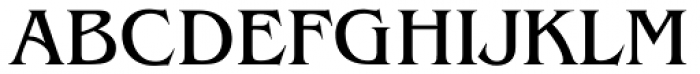 Baldessare Font UPPERCASE