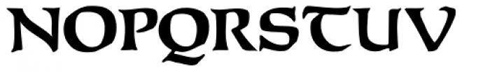 Baldur Font UPPERCASE