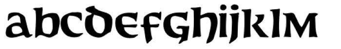 Baldur Font LOWERCASE